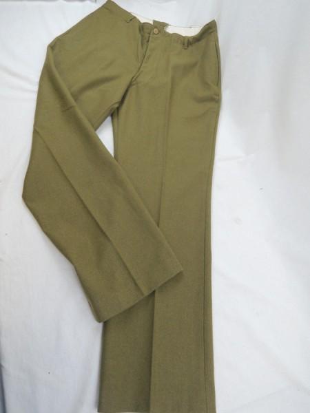 US ARMY WW2 M1937 Field trousers M37 Mustard Field Trousers