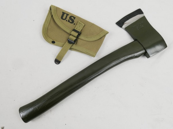 US Army M1910 Axe with cover M-1910