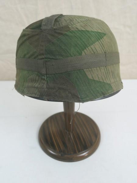 WW2 helmet cover marsh camouflage + splinter camouflage helmet cover paratrooper helmet Luftwaffe FJ M38
