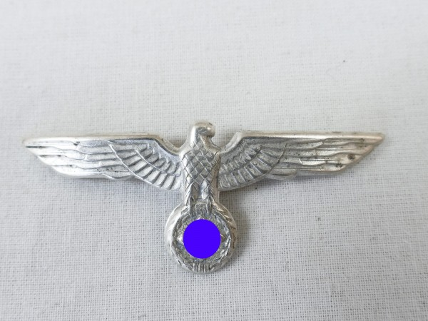 Wehrmacht cap eagle silver plated effects visor cap