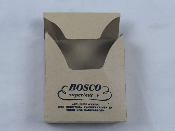 "Cigarette pack "" Bosco Superieur "" for the Wehrmacht"