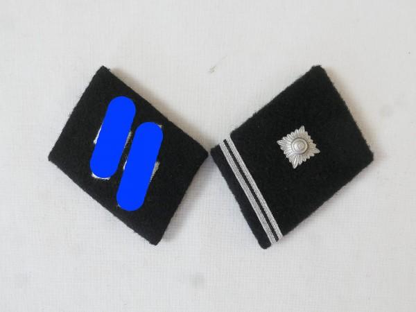 Waffen Elite collar mirror / Scharführer Unterfeldwebel , pair
