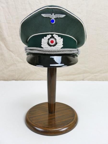 Wehrmacht Gabardine Visor Cap Officer Infantry Gr. 58