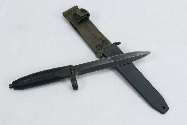 Bayonet for HK G3 / HK33 combat knife with scabbard
