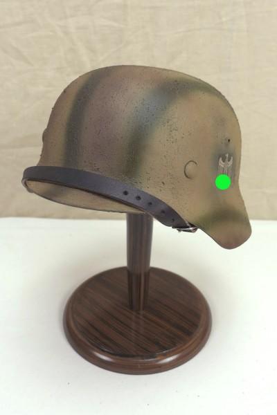 Steel helmet Wehrmacht Army model M35 Rauhtarn camouflage helmet size 59/60 #11