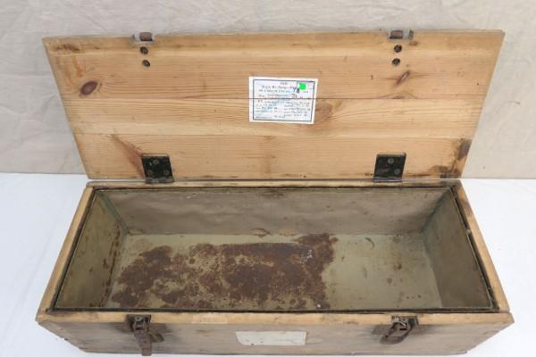 WK2 ammunition box wood for 2cm cartridges 200 rounds explosive shells Flak Luftwaffe 1944