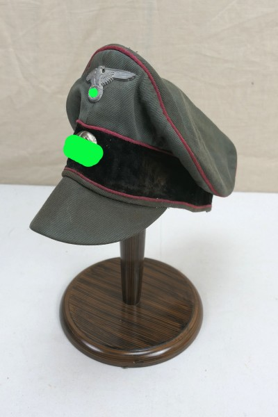 Weapons Elite Armour Peaked Crusher Cap Old Style with Effects Size 57 Gabardine