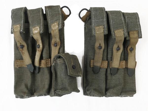 MP 38/40 magazine pockets south front DAK pair