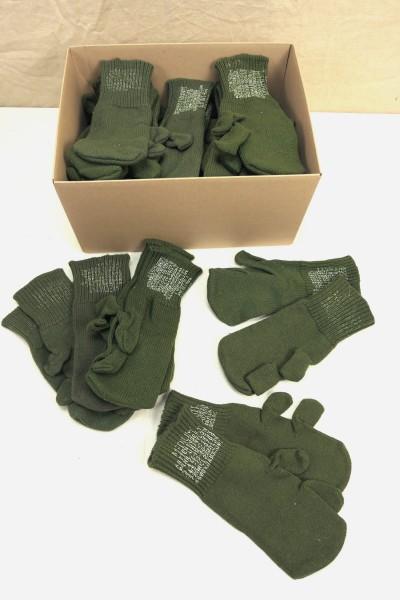 US ARMY Trigger Finger Wool Gloves M-1948 / Gloves wool olive / Size M Medium