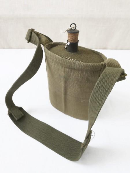 GB Field bottle water bottle english WW2 complete Webbing strap Strap