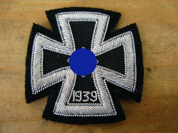 EK1 fabric badge