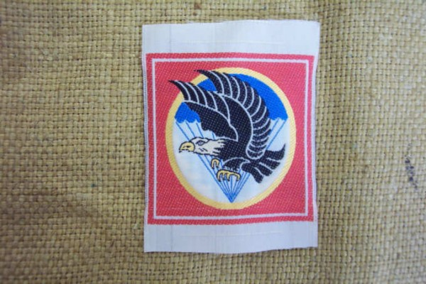 Badge woven for South Vietnamese units paratroopers