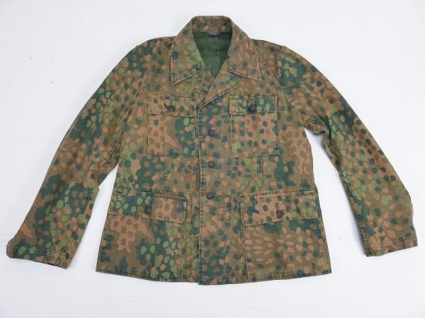 Weapons SS Cotton Four Pocket Skirt Camouflage Jacket Pea Camo M44 Top Vintage Optics Gr.48