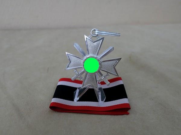 Knight's Cross of the Cross of War Merit KVK with Swords Silver on Ribbon