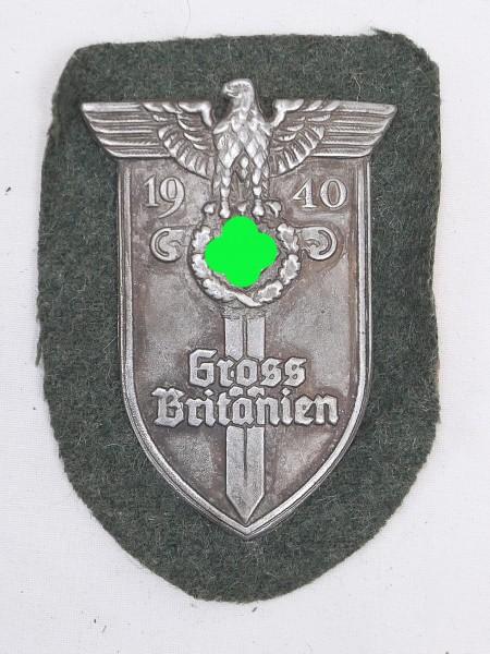 Wehrmacht sleeve badge Great Britain 1940