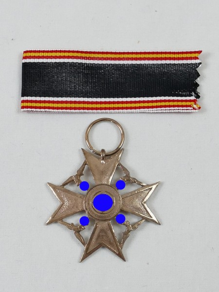 Spain Cross L/21 Bronze on ribbon / Honour Cross for Survivors German Fighter for Spain