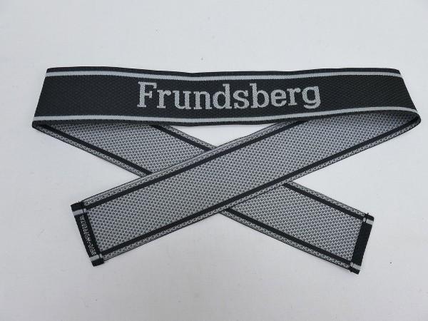 Wehrmacht Elite BEVO Sleeve Band Waffen SS Division FRUNDSBERG Sleeve Stripes