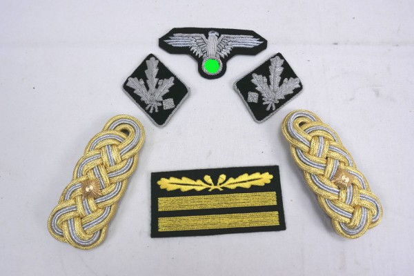 Set of Effects Badge Weapons Elite for an SS-Gruppenführer / Lieutenant General