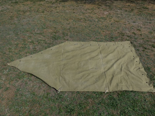 US Army Tent Shelter Tent Shelter 1942 Original tent shelter helped