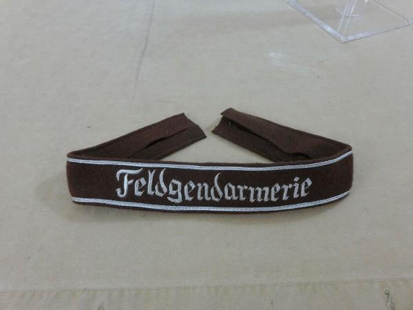 Wehrmacht Sleeve Ribbon Fieldendarmerie / Officer