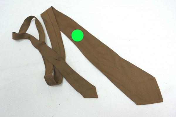 Wehrmacht Tie with Party Badge Binder Tie brown