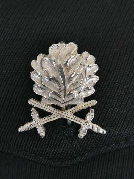 Oak leaves with silver-plated swords L/4 to the Knights Cross of the Iron Cross