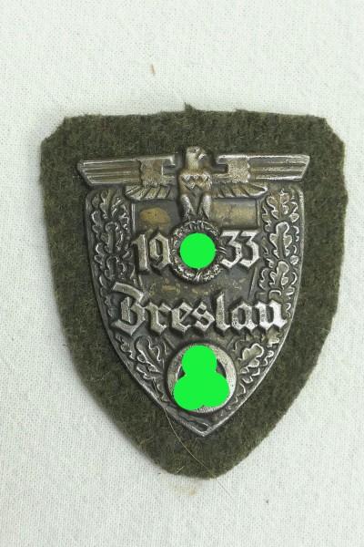 Sleeve plate Breslau 1933