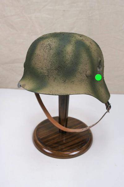 Wehrmacht camouflage Normandy steel helmet M35 M40 DD Rauhtarn camouflage helmet size 59/60 #53