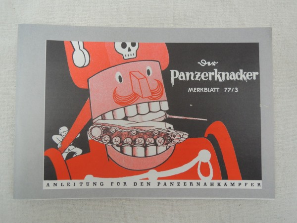 Panzerknacker - Instructions for the Panzernahkämpfer