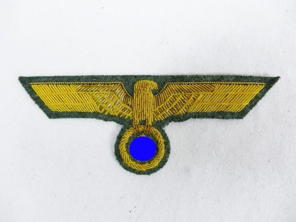 Wehrmacht General Brustadler M40 gold thread embroidered for field blouse service skirt Generalit
