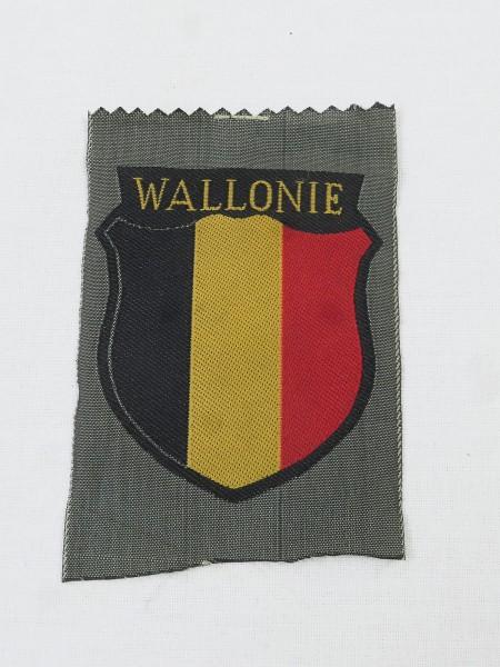 Wallonia volunteer sleeve badge field blouse uniform sleeve badge elite