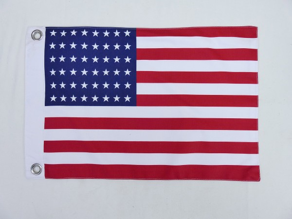US ARMY WW2 Vintage Camp Jeep Flag 48 Stars & Stripes Flag 2 layers 45x30cm