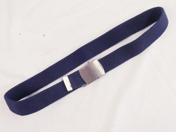US Trouser Belt USAF Air Force Trouser Belt BDU Belt blue