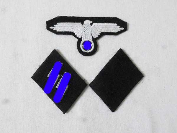 Set Badge Elite Sleeve Eagle and Collar Mirror XX-Man for Field Blouse