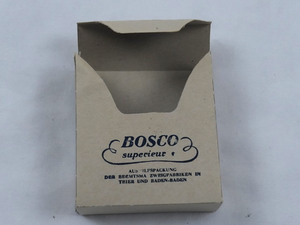 "Cigarette pack cigarette pack "" Bosco Superieur "" for the Wehrmacht original"