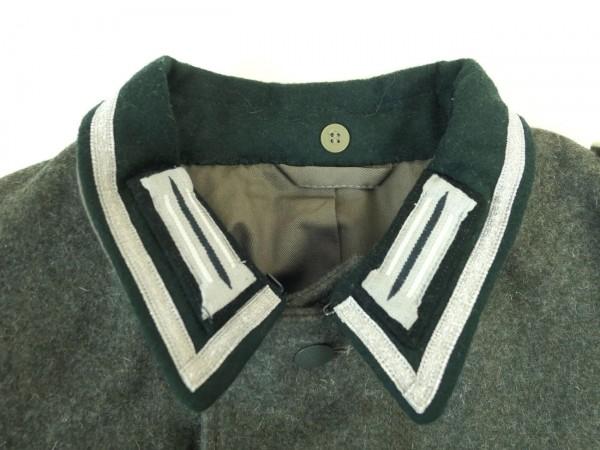 Wehrmacht 1m collar braid silver for sergeant + NCO braid for uniform field blouse