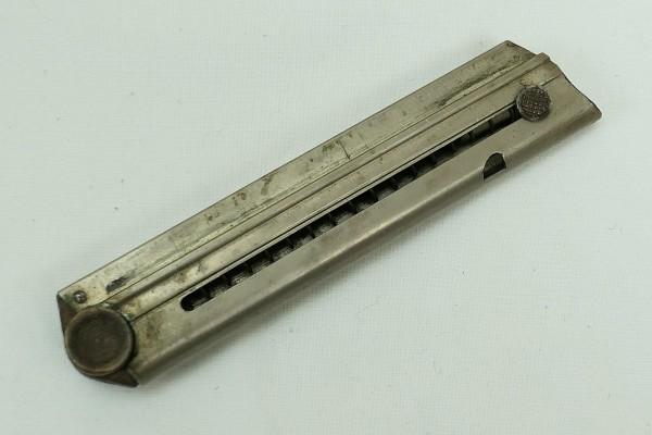 Original P08 magazine 9mm wooden base with no.