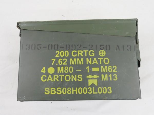 US Style Ammo Box Ammo Box Metal Box CAL.7.62 MM NATO