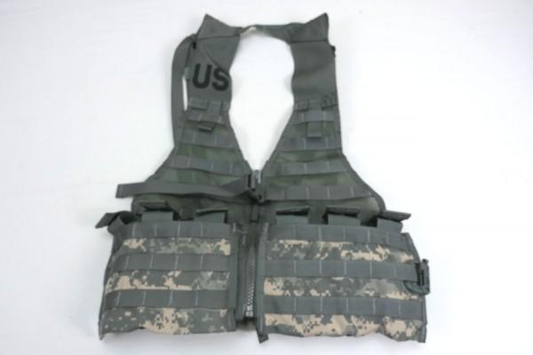 US Army Molle II ACU Fighting Load Carrier Vest FLC Tactical Vest