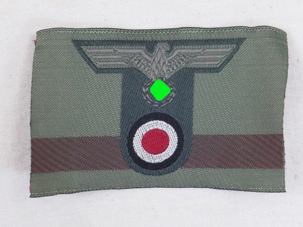Wehrmacht M40 T-Eagle cap eagle woven with cockade mountain fighter