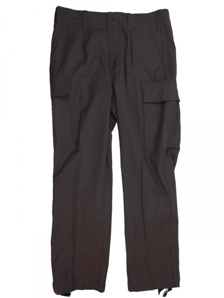 German Armed Forces Trousers Moleskin trousers black