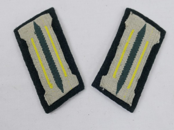 Wehrmacht 1xpair collar mirror Intelligence Service Telecommunications troop copy