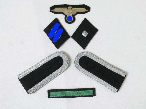 Set of Effects Badges Weapons Elite Shoulderpads Sleeve eagle Collar mirror for Unterscharfü