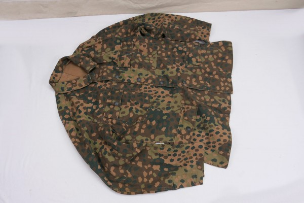 M44 pea camouflage field blouse camouflage jacket four pocket skirt with chamber stamp Gr.56