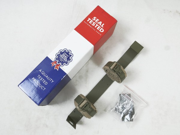 Holder for vehicle fire extinguisher Willys Jeep MB, Hotchkiss M 201, Ford GPW and others
