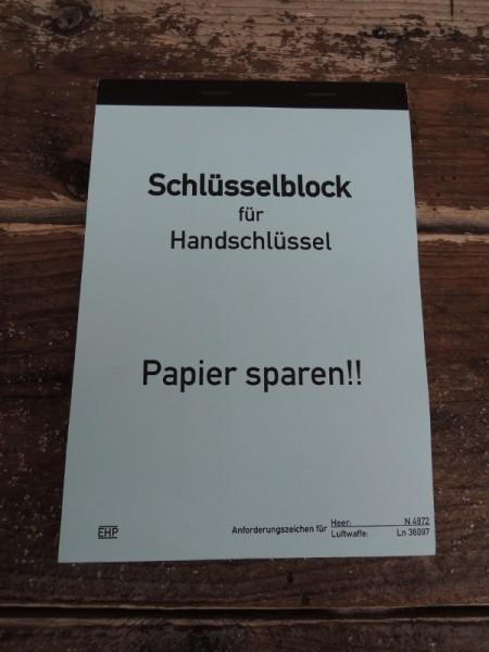 Key Block Block Wehrmacht