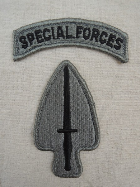 US ARMY Special Operations Command ACU Patch with Special Forces Tab / patch
