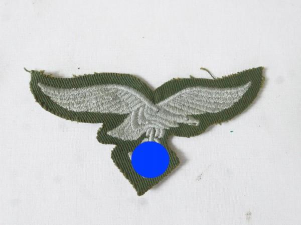 Chest Eagle green Luftwaffe Bone Bag Grinding Suit embroidered