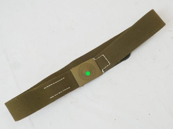 DAK Afrikakorps Tropen Koppel HEER / Web Koppelriemen Koppel oliv 110er length