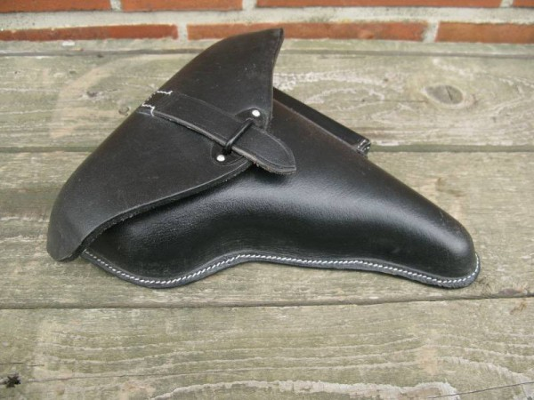 Wehrmacht P38 Holster Briefcase Leather Holster Pistol Case black